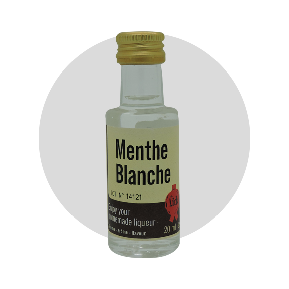 extrait lick menthe blanche 20 ml