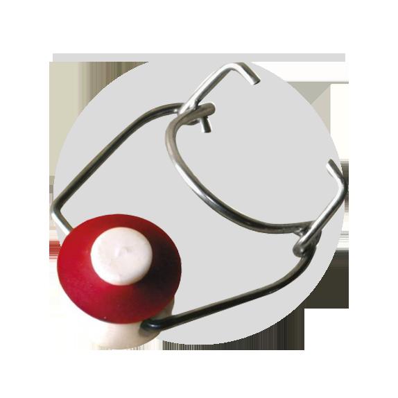 Bouchons mécaniques et colliers x 25