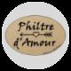 36 étiquettes autocollantes Philtre d'Amour