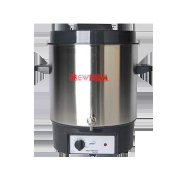 Cuve de brassage 27 litres inox