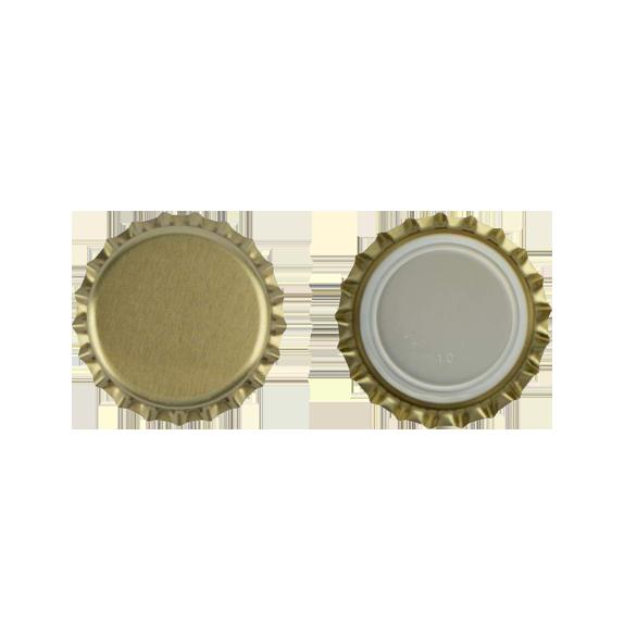 1000 capsules de bière Or 26mm