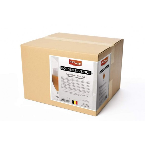 Description du kit de malt Brewferm Golden Beverius