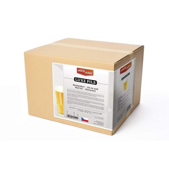 Image kit de malt tout grain Brewferm Luxe Pils