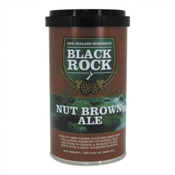 Kit Bière Black Rock Nut Brown Ale