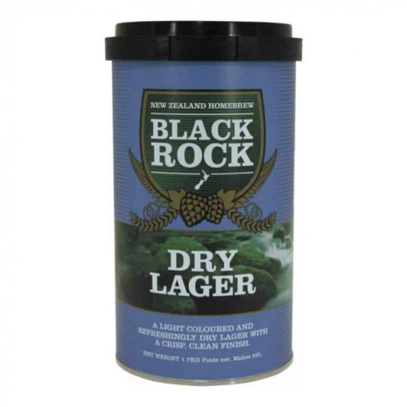 Kit Bière Black Rock Dry Lager