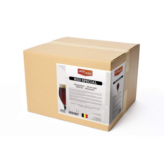 kit de malt Brewferm Red Special