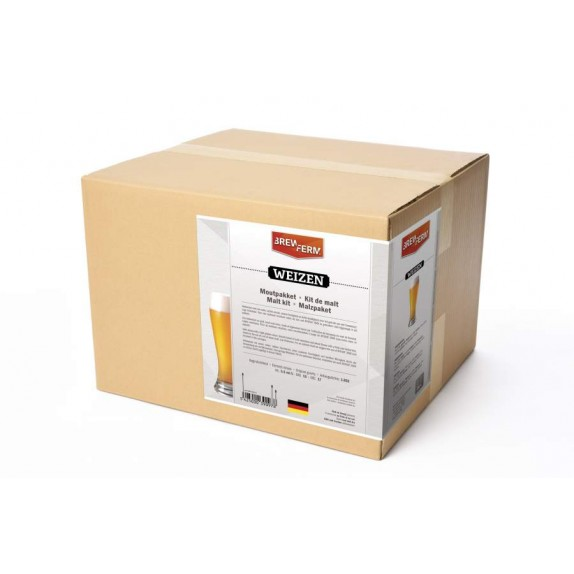 Description du kit de malt Brewferm Weizen