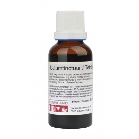 Teinture d'iode pour test amidon 30 ml NL/FR
