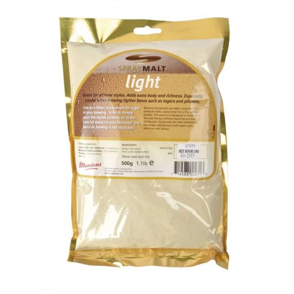 Malt poudre Muntons Light 7-12 EBC 500 g